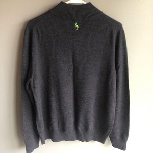 Tailorbyrd Sweaters - Tailorbyrd Men's 100% Wool Grey Pullover Sweater